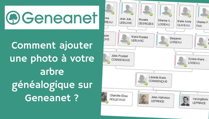 Comment ajouter une photo à votre arbre généalogique sur Geneanet ?